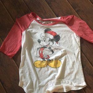 Mickey Christmas Shirt!